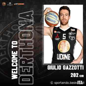 Tortona, ufficiale la firma di Giulio Gazzotti - Sportando