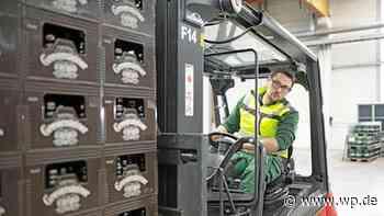 Veltins will Bier mit modernen Elektro-Staplern verladen - Westfalenpost