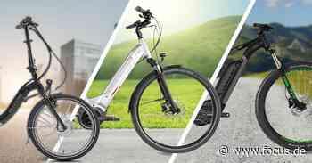 E-Bikes günstiger: 4 hochwertige Elektro-Fahrräder jetzt zum Knaller-Preis! - FOCUS Online