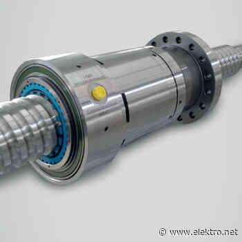 Kugelgewindetriebe mit rotierender Mutter und Drehdurchführung - de – das elektrohandwerk