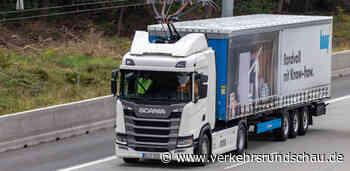 Knauf Logistik startet Testfahrten auf Elektro-Highway in Hessen - VerkehrsRundschau