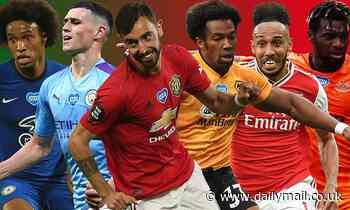 Bruno Fernandes and Kevin De Bruyne feature in our Premier League POWER RANKINGS