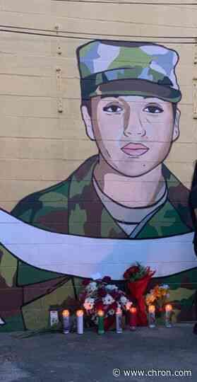Tribute mural honors Vanessa Guillen in Houston neighborhood where she grew up - Chron