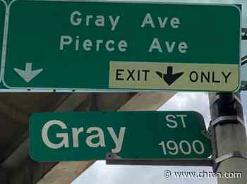 No one cares that this Houston street sign is wrong. Except for me - Chron
