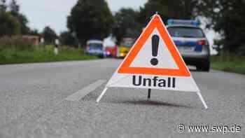 Unfall B312 Pfullingen und Unterhausen : Autos kollidieren - Ursulabergtunnel gesperrt - SWP