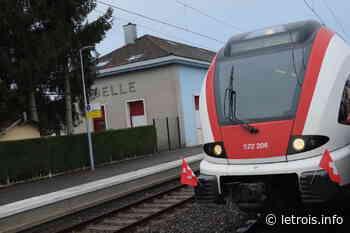 Modifications attendues pour la ligne Belfort-Delle en décembre - Le Trois