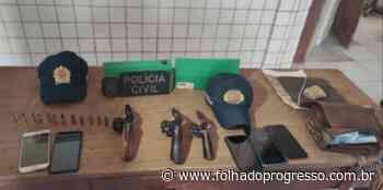 Sete supostos membros do Comando Vermelho são presos em Itaituba - Jornal Folha do Progresso