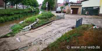 Nach Unwetter: Hettstedt plant regelmäßige Überprüfung der Gewässer - mz-web.de