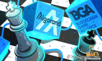 Blockchain Game Alliance Welcomes Algorand (ALGO) as Its Newest Member - BTCMANAGER