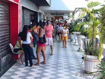 Primeiro dia de reabertura do comércio tem ruas movimentadas em Natal - G1
