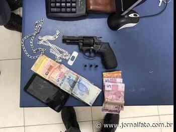 Após tentativa de fuga, cinco são detidos com arma em Alegre - Jornal FATO