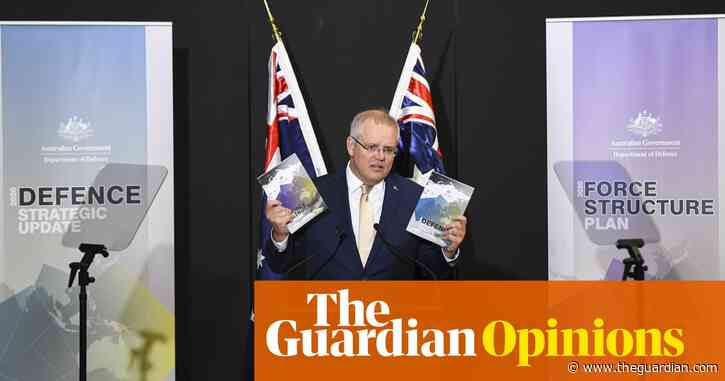 Morrison sees strategic dangers ahead. Here's hoping he doesn't lose sight of the economic ones | Katharine Murphy