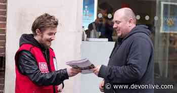 Big Issue seller on 'life changing' return to Exeter High Street - Devon Live
