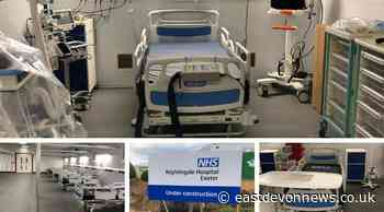 Exeter Nightingale Hospital turns into cancer scan & test centre while on Covid standby - East Devon News.co.uk