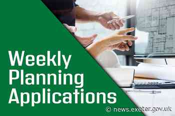Weekly Planning Applications - 2 July 2020 - Exeter City Council