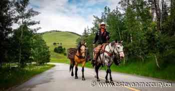 'Moments like this:' Cowboy finishes Alaska-Calgary trek with Stampede honour - Estevan Mercury