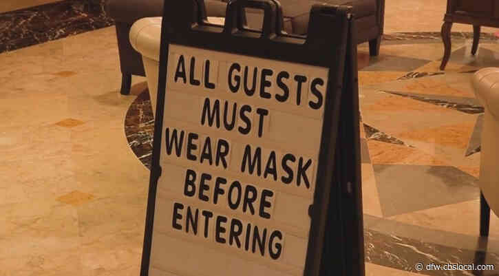 DFW Area Police Officers To Educate And Inform Public With Texas Mask Mandate In Effect