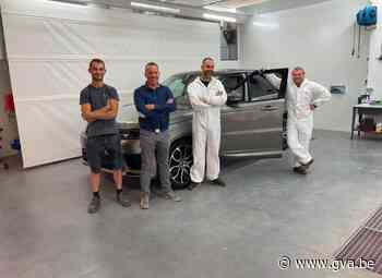 Garage Peeters investeert ruim 1 miljoen euro in vernieuwing afdeling: nieuwe carrosserieafdeling lijkt clean autolabo - Gazet van Antwerpen