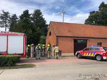Afvalverbranding laat brandweer uitrukken (Herentals) - Gazet van Antwerpen