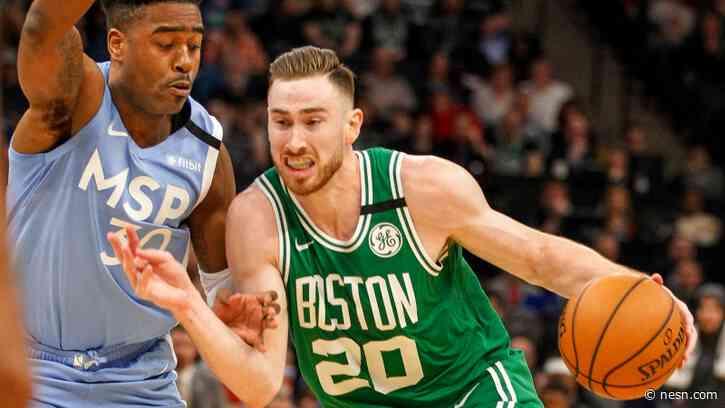 Celtics' Gordon Hayward Plans To Leave NBA Bubble For Birth Of Child