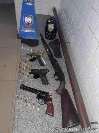 PM encontra armas em fazenda no Frade, interior de Itapemirim - Aqui Notícias - www.aquinoticias.com