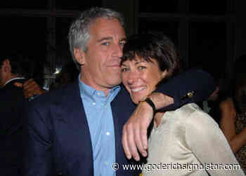 HUNTER: Ghislaine Maxwell arrested on Jeffrey Epstein-related charges - Goderich Signal Star