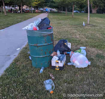 BlackburnNews.com - Garbage being left on Goderich beaches - BlackburnNews.com