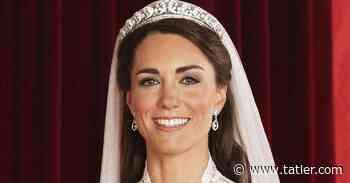 The Story Of Kate Middleton's Wedding Tiara: The Cartier Halo - Tatler
