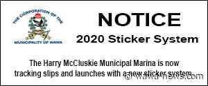 2020 Marina Season – Marina Sticker System – Wawa-news.com - Wawa-news.com