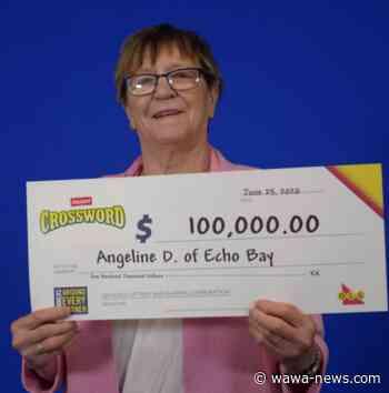 Echo Bay's Angeline Desbiens wins $100000 – Wawa-news.com - Wawa-news.com