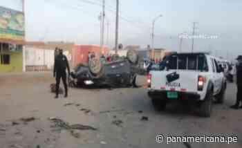 Huarmey: cámara de vigilancia captó aparatoso accidente que dejó 2 muertos | Panamericana TV - Panamericana Televisión