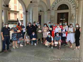 Omegna ha ringraziato i volontari impegnati nell'emergenza Covid - Azzurra TV