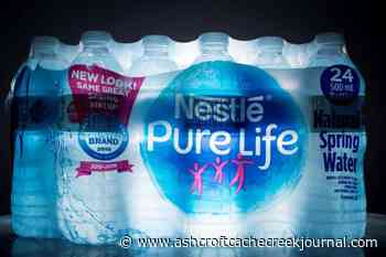 Nestle Canada selling bottled water business to local family-owned company - Ashcroft Cache Creek Journal