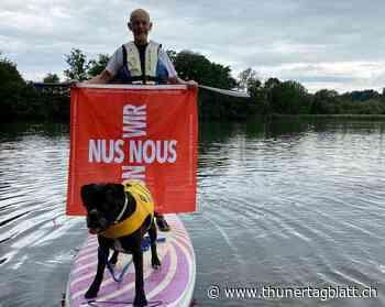 Loubegaffer – Stand-up-Paddling auf dem Wohlensee statt lustige Videos - BZ Thuner Tagblatt