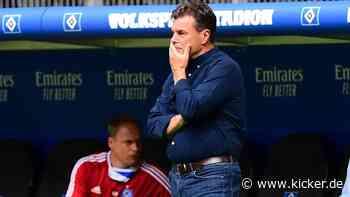 Hecking-Abschied beim Hamburger SV ganz nah - kicker - kicker