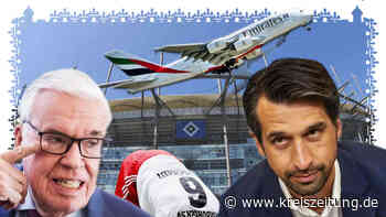 "Hamburger SV: Abflug des HSV-Hauptsponsor ""Emirates"" , Investor Kühne sagt ""Tschüss"" - kreiszeitung.de"