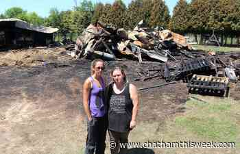 Woman rescues dozens of animals from burning Chatham-area barn - Chatham This Week