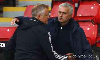 Sheffield United boss Chris Wilder praises Tottenham counterpart Jose Mourinho