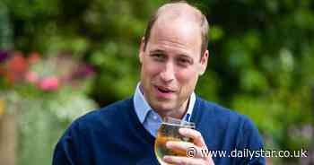 Prince William sneaks in a preview pint down the pub ahead of Super Saturday - Daily Star