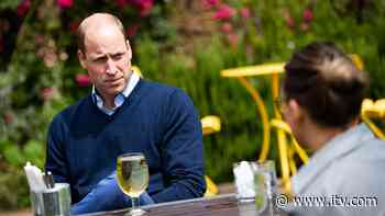 Prince William enjoys pint of cider in Norfolk pub ahead of reopening | ITV News - ITV News