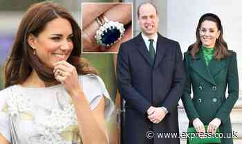 Kate Middleton was given £2,000 ring from Prince William for 'enormously romantic' reason - Express