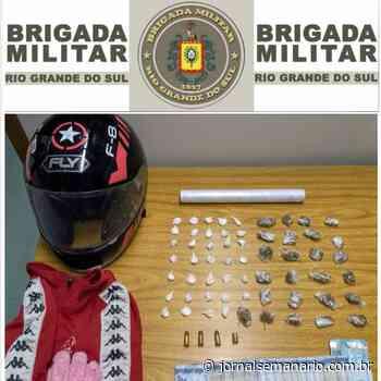 Dupla é presa por tráfico de drogas e receptação em Garibaldi - jornalsemanario.com.br
