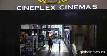 Cineplex sues Cineworld for $2.18B in wake of failed acquisition