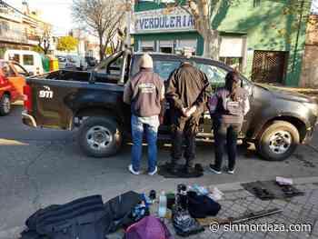 Detuvieron a un policía en Rosario - Sin Mordaza