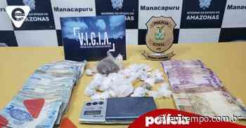 Dupla é presa após comprar drogas em Manaus e revender em Manacapuru - EM TEMPO