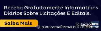 Fundo Municipal de Saude de Gravata | GRAVATA-PE - Portal Panorama Farmacêutico