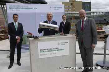 Infraserv legt Grundstein für neue Gasturbine - Chemie Technik