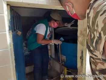 Mutirão das arboviroses em Olinda vistoria 985 imóveis no Córrego do Abacaxi - Prefeitura de Olinda