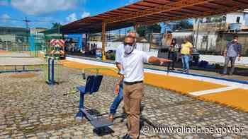Prefeitura de Olinda entrega Espaço de Lazer do Caenga nesta sexta-feira - Prefeitura de Olinda