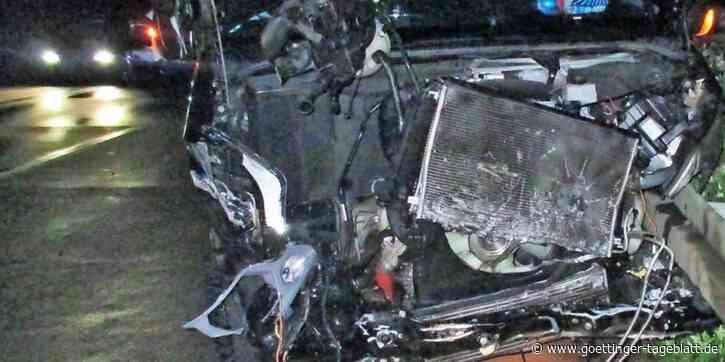 Schwerer Unfall auf A 38 bei Heiligenstadt mit Mercedes Transporter - Göttinger Tageblatt
